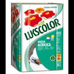 Massa Acrílica Lukscolor 18l
