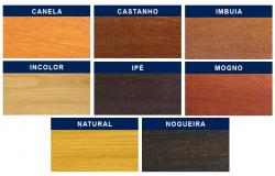 Stain Acetinado Castanho UV Deck Osmocolor Montana 0,9l 2