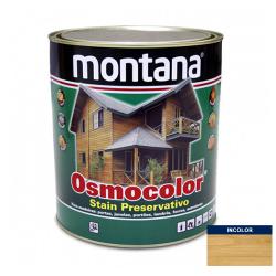 Stain Acetinado Transparente Osmocolor Montana 0,9l
