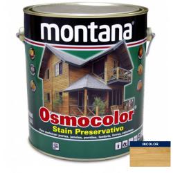 Stain Acetinado Transparente Osmocolor Montana 3,6l