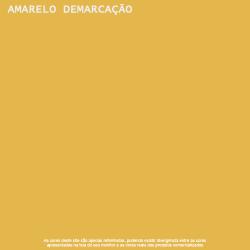 Tinta Acrílica Fosco Amarelo Demarcação Piso Lukscolor 3,6l 2
