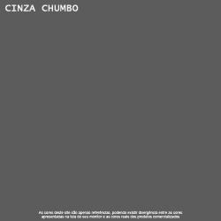 Tinta Acrílica Fosco Cinza Chumbo Piso Lukscolor 18l 3