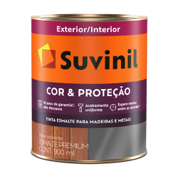 Tinta Esmalte Acetinado Branco Cor e Proteção Suvinil 0,9l