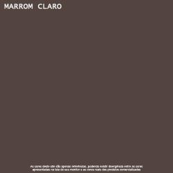 Tinta Esmalte Brilho Marrom Claro Premium Lukscolor 0,9l 2