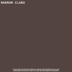 Tinta Esmalte Brilho Marrom Claro Premium Lukscolor 3,6l 2