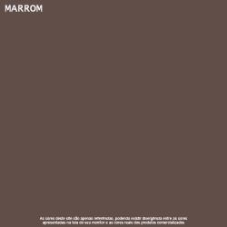 Tinta Esmalte Brilho Marrom Premium Lukscolor 0,225l 2