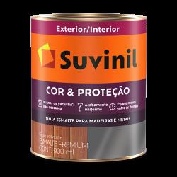 Tinta Esmalte Fosco Branco Cor e Proteção Suvinil 0,9l