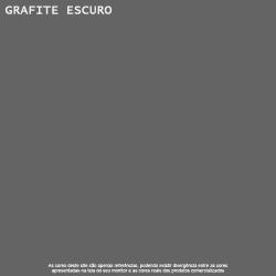 Tinta Esmalte Fosco Grafite Escuro Premium Lukscolor 0,9l 2