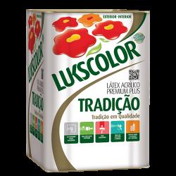 Tinta Látex Fosco Branco Premium Lukscolor 18l