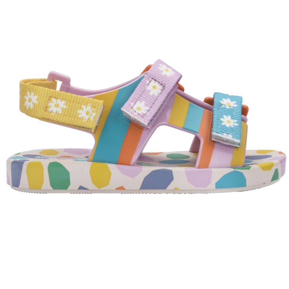 Sandália Mini Melissa PingPong + Fabula Rosa Infantil