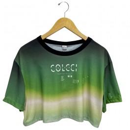 Imagem - Camiseta Colcci Verde Feminina
