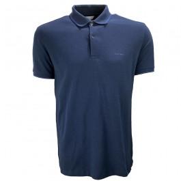 Imagem - Camisa Polo Calvin Klein Azul Marinho Masculina