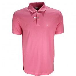 Imagem - Camisa Polo Calvin Klein Rosa Masculina