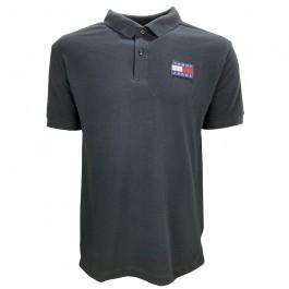 Imagem - Camisa Polo Tommy Jeans Badge Preta