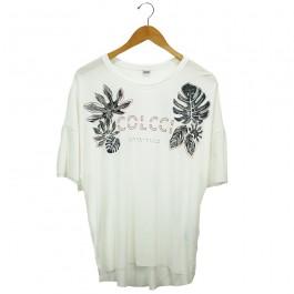 Imagem - Camiseta Colcci Branca Feminina