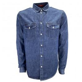 Imagem - Camisa Tommy Jeans Azul
