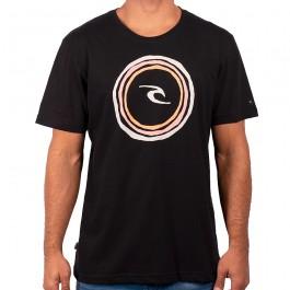 Imagem - Camiseta Rip Curl Easy Fornt Preta Masculina