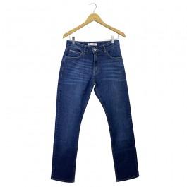 Imagem - Calça Tommy Jeans Ryan Reg Straight Azul Masculina