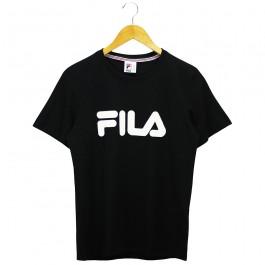 Imagem - Camiseta Fila Basic Letter Preta Feminina