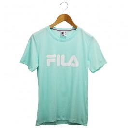Imagem - Camiseta Fila Basic Letter Azul Feminina