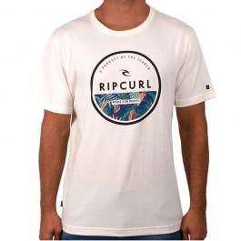 Imagem - Camiseta Rip Curl Corp Yard Tee Bone Bege Masculina