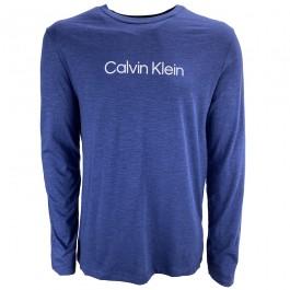 Imagem - Camiseta Calvin Klein Institucional Mescla Azul Masculina