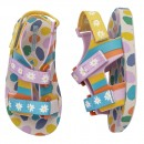 Sandália Mini Melissa PingPong + Fabula Rosa Infantil 3