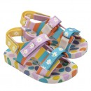 Sandália Mini Melissa PingPong + Fabula Rosa Infantil 2