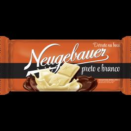 Imagem - Barra Chocolate Preto e Branco 100G cód: 63800111