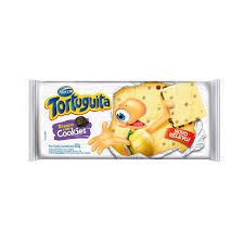 Imagem - Barra Tortuguita Branco Com Cookies 100G cód: 6380013