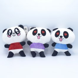 Imagem - Bichinho De Pelúcia Panda Meu Pet Cores Sortidas 1 Unidade cód: 6360301