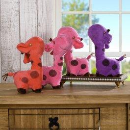 Imagem - Bichinho De Pelúcia Girafa (unidade) Meu Pet - Tottal Casa e Lazer cód: 6360302