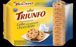 Imagem - Biscoito Triunfo Amant. Leite Gotas Choc. 330G cód: 7030201