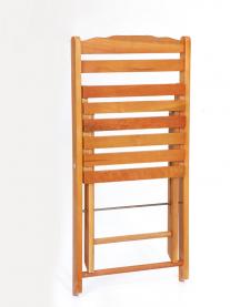 Imagem - Cadeira Madeira Dobrável Com 2 Ripas cód: 7141253