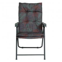 Imagem - Cadeira Poltrona Estofada K2 Grafite cód: 7141042