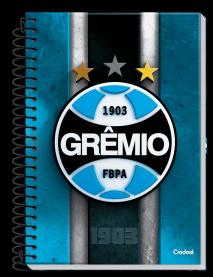 Imagem - Caderno Universitário Credeal Grêmio 1 Matéria Capa Dura 96 Folhas cód: 6130043