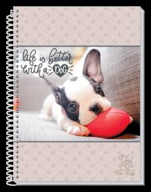 Imagem - Caderno Espiral Pet Amigo 10 Matérias 200 folhas Tottal cód: 6130051