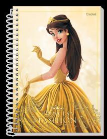 Imagem - Caderno Princesa Fashion 1 Matéria 80fls cód: 6130047