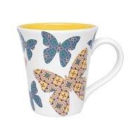 Imagem - Caneca 330ML Cerâmica Oxford Tulipa Borbolejo cód: 72200136
