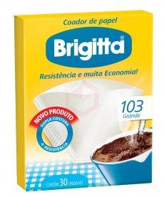 Imagem - Coador 103 Grande Brigitta 30UN cód: 7030227