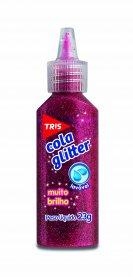 Imagem - Cola Glitter Tris Vermelha 23g cód: 6135026