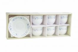 Imagem - Conjunto de Chá 12 peças Opal Blue Mystique cód: 72200513