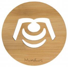 Imagem - Descanso De Panela Bamboo Mundiart cód: 73051058