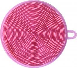 Imagem - Esponja Silicone Louça 11,2x12,5Cm BS0015 Pinck cód: 73055052