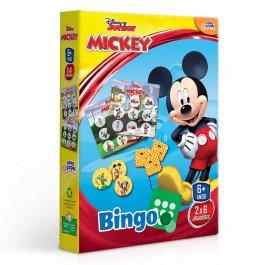Imagem - Jogo Bingo Mickey Disney Junior 150 Peças Novo Papel  cód: 63040110