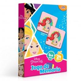 Imagem - Jogo De Memória Disney Princesas 150 Peças Novo Papel cód: 6304018