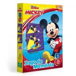 Imagem - Jogo De Memória Mickey Disney Junior 24 Peças Novo Papel cód: 6304017