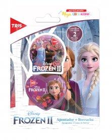 Imagem - Kit Apontador+ Borracha Frozen cód: 6135018