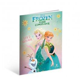 Imagem - Livro Frozen Ler e Colorir cód: 6133011114