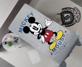 Imagem - Manta Decorativa Flanel Solteiro Mickey Mouse 150x220 cód: 3480202